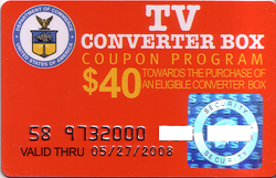 DTV coupon image