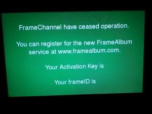 D-Link 'blank frameID' panel